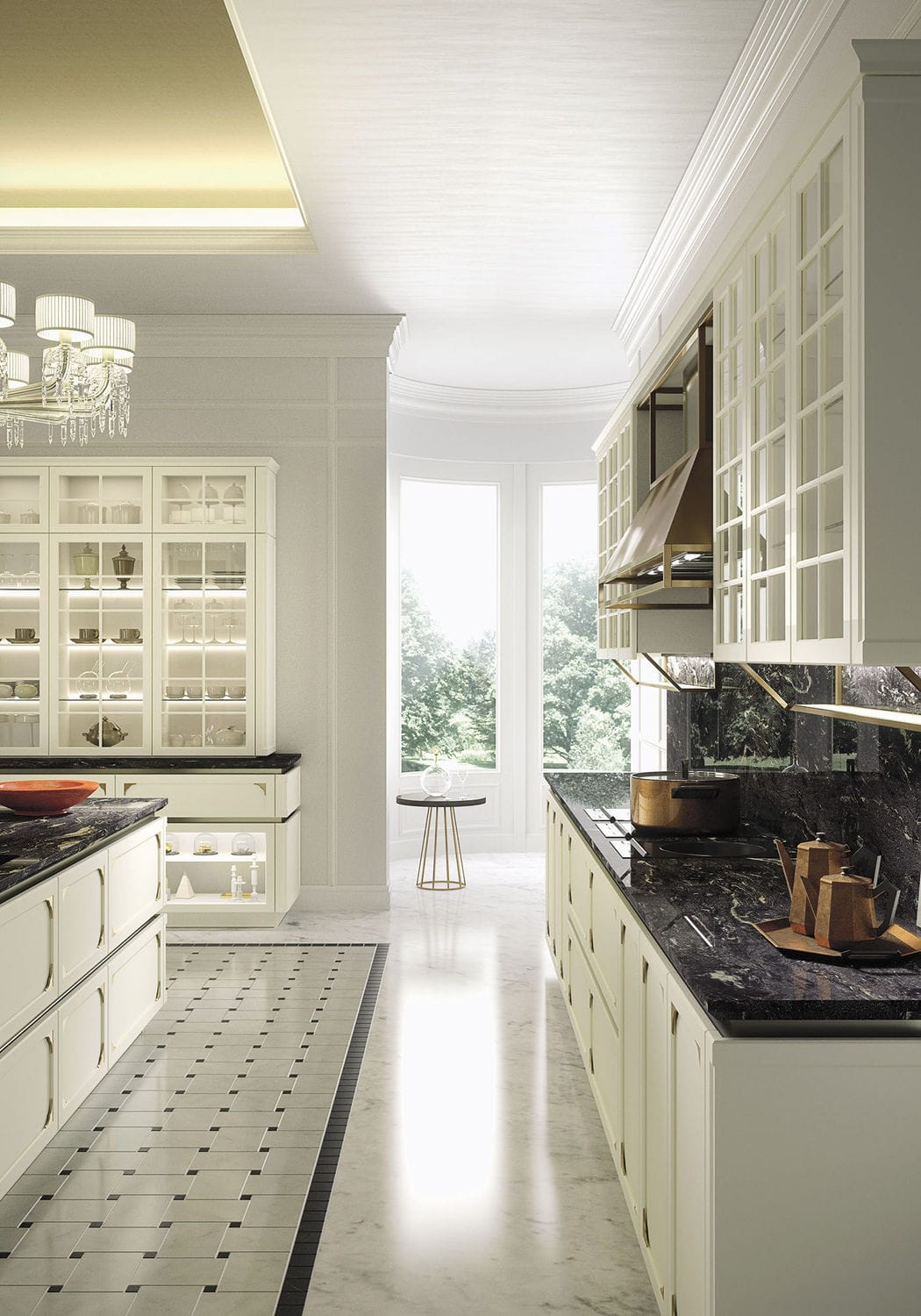 traditional kitchen / wooden / modular / island - kellyiosa