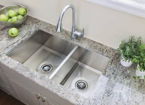 Merveilleux ... Double Kitchen Sink / Stainless Steel