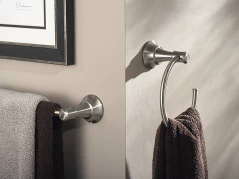 towel ring wallmounted steel ashville dn7986ch moen