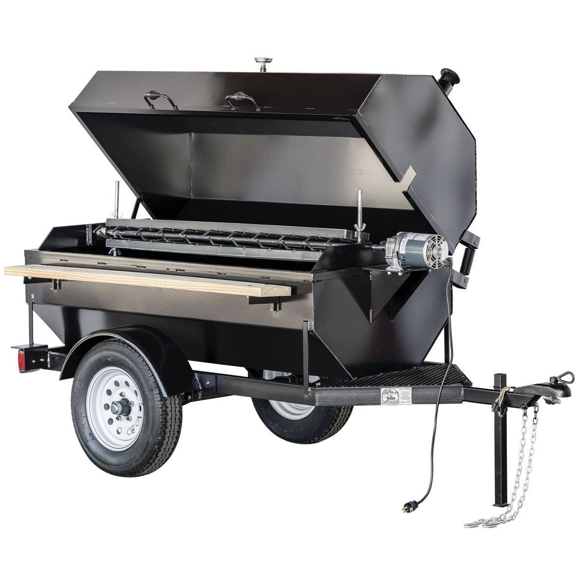 Charcoal barbecue steel commercial 6sdr