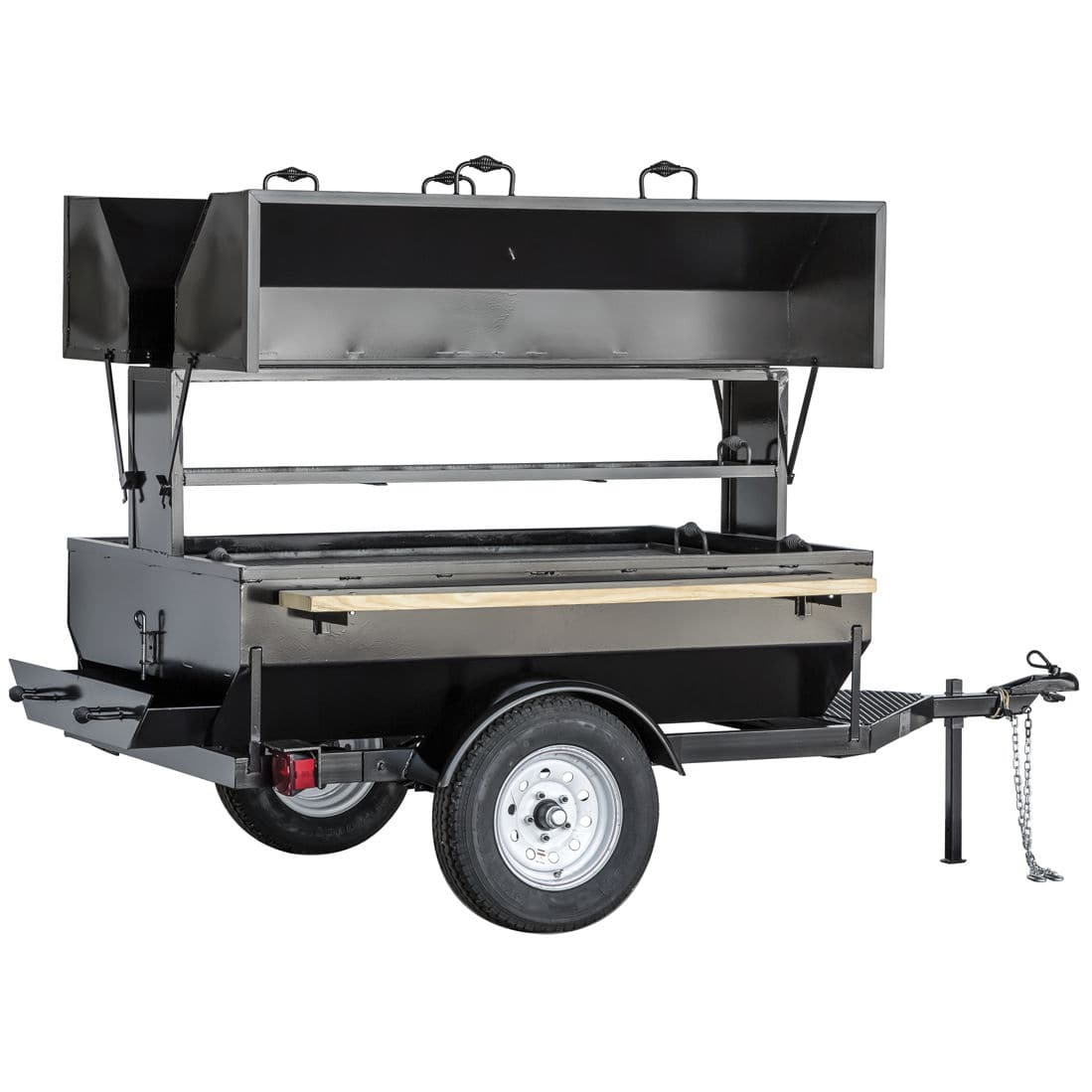 Charcoal barbecue stainless steel commercial 6ddg big john grills rotisseries