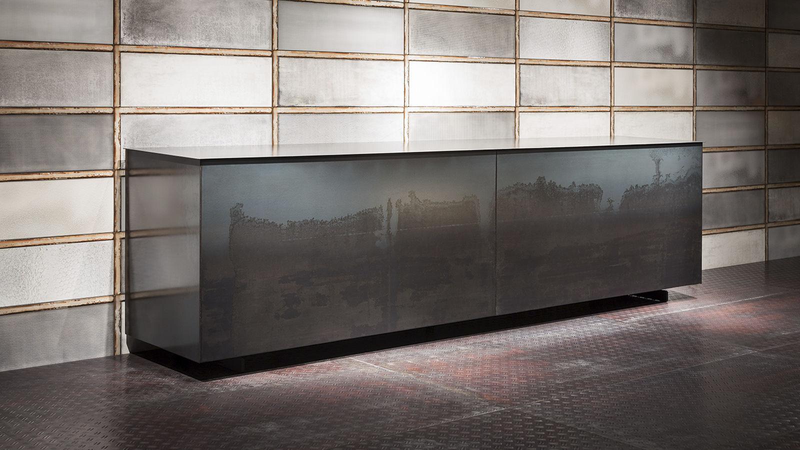 Bezaubernd Sideboard 180 Galerie Von Contemporary / Laminate / White / Black