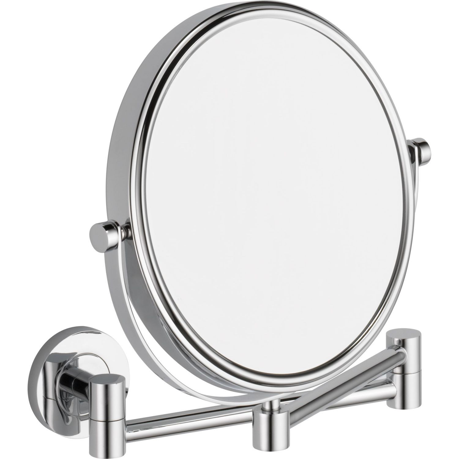 Wall-mounted bathroom mirror / magnifying / double-sided ...