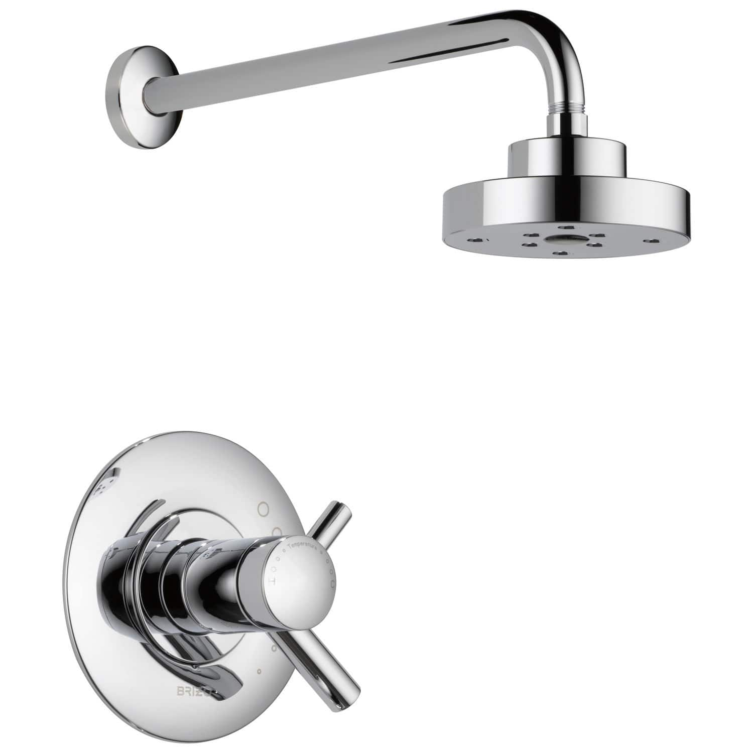 Recessed wall shower set / traditional / with hand shower / with ...