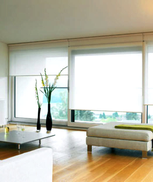 Roller blinds fabric commercial custom Silent Gliss