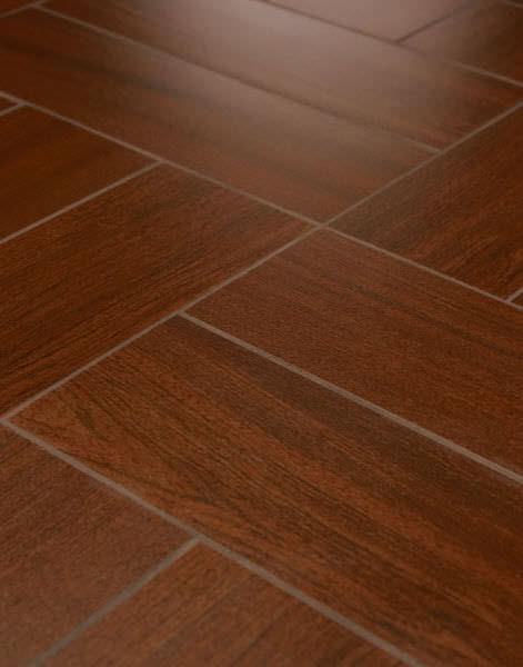 Relatively Indoor tile / floor / porcelain stoneware / polished - WOOD  KM21