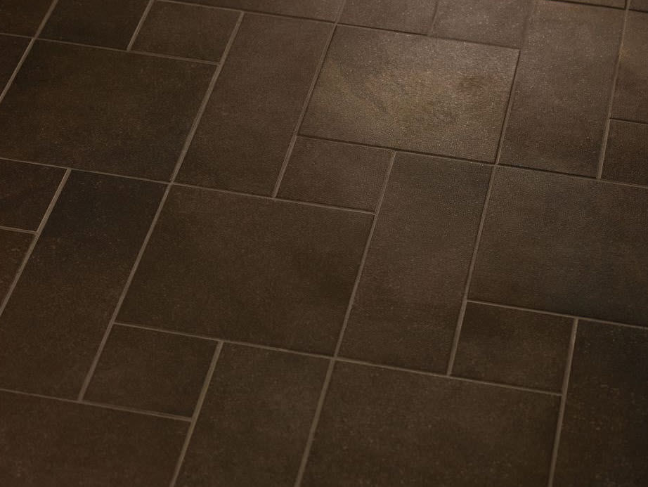 Indoor Tile Bathroom Floor Porcelain Stoneware Main Street Bistro Brown