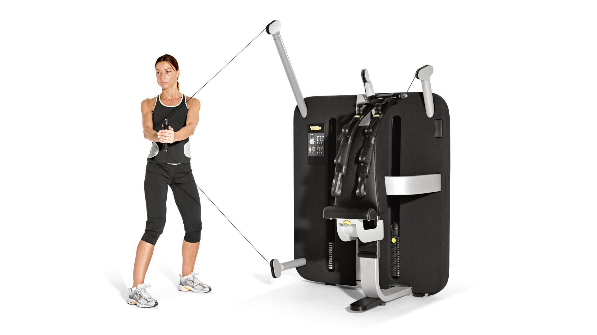 Lat Pulldown Weight Training Machine
