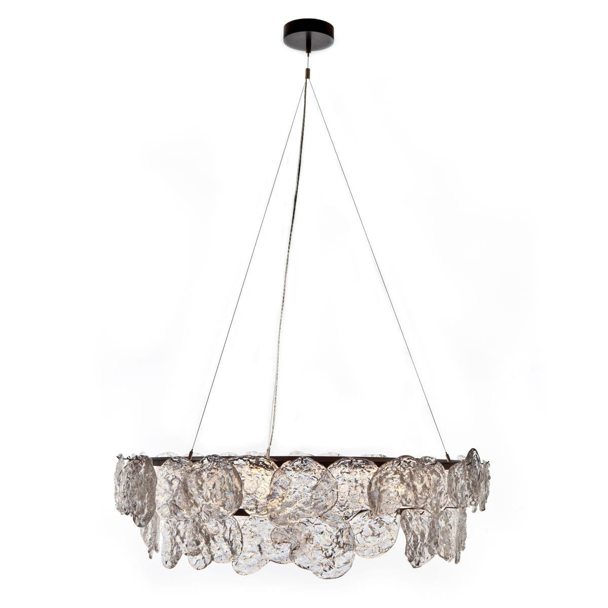 Contemporary chandelier metal glass incandescent rock edge contemporary chandelier metal glass incandescent arubaitofo Image collections