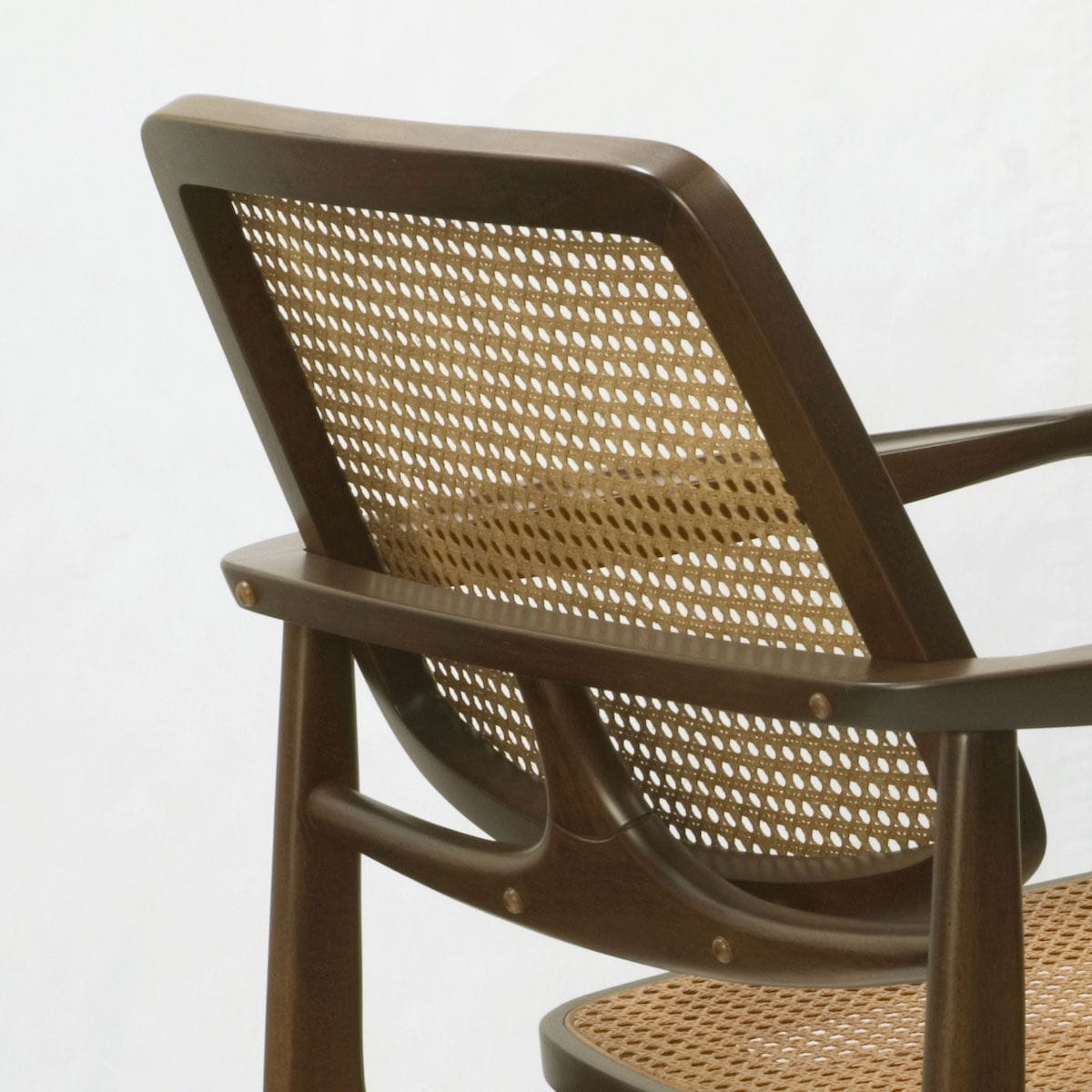 Contemporary Armchair / Solid Wood / Wooden OSCAR By Sergio Rodrigues  Triode Design