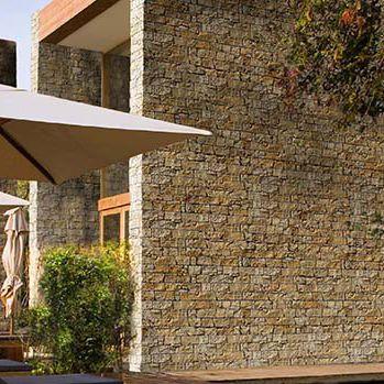 Natural stone wall cladding panel / interior / exterior / decorative ...