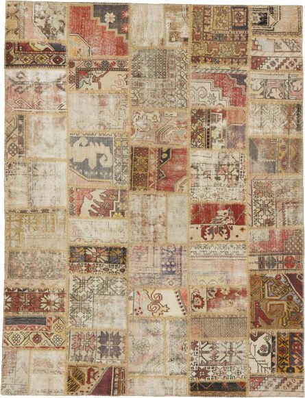 Contemporary Rug / Patchwork / Wool / Rectangular MADDA PATCH TISCA ITALIA  ...