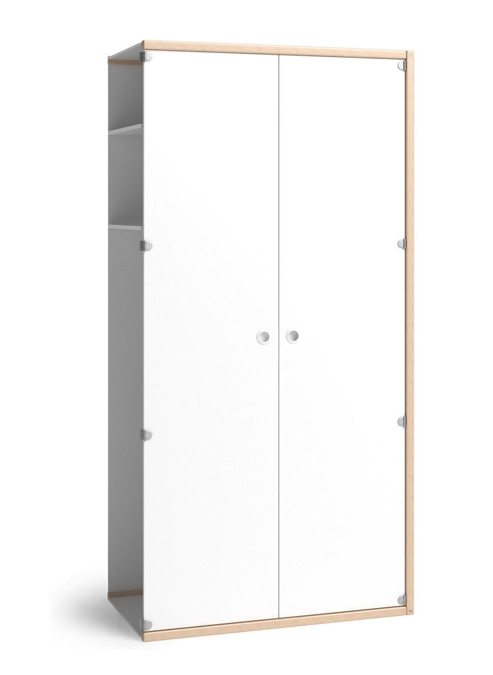 Flötotto Profilsystem contemporary wardrobe wooden with swing doors profilsystem