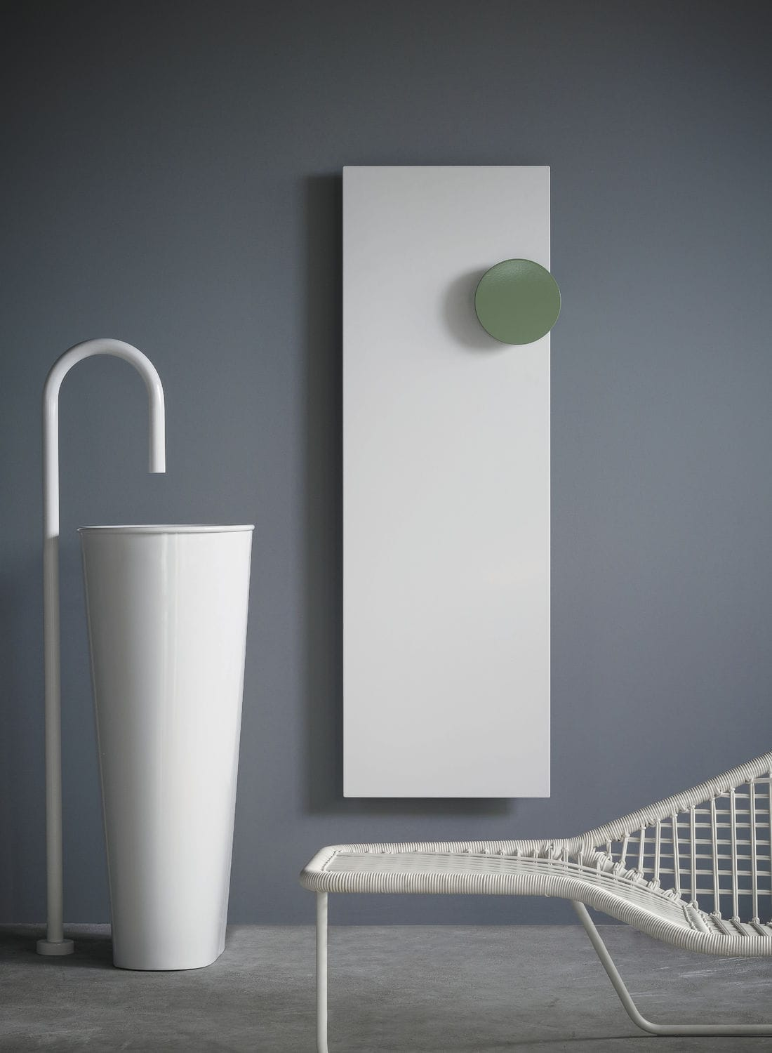 ... Hot water radiator / electric / aluminum / contemporary ELEMENTS:  SQUARE by Ludovica & Roberto ...