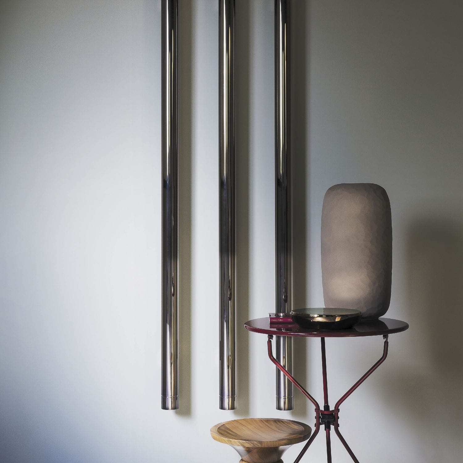 Hot water radiator / electric / aluminum / contemporary - ELEMENTS ...