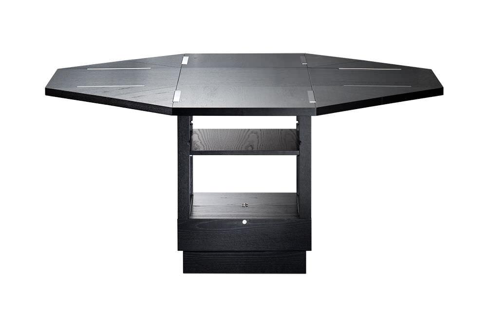 bauhaus design table / ash / extending / adjustable - m10erich