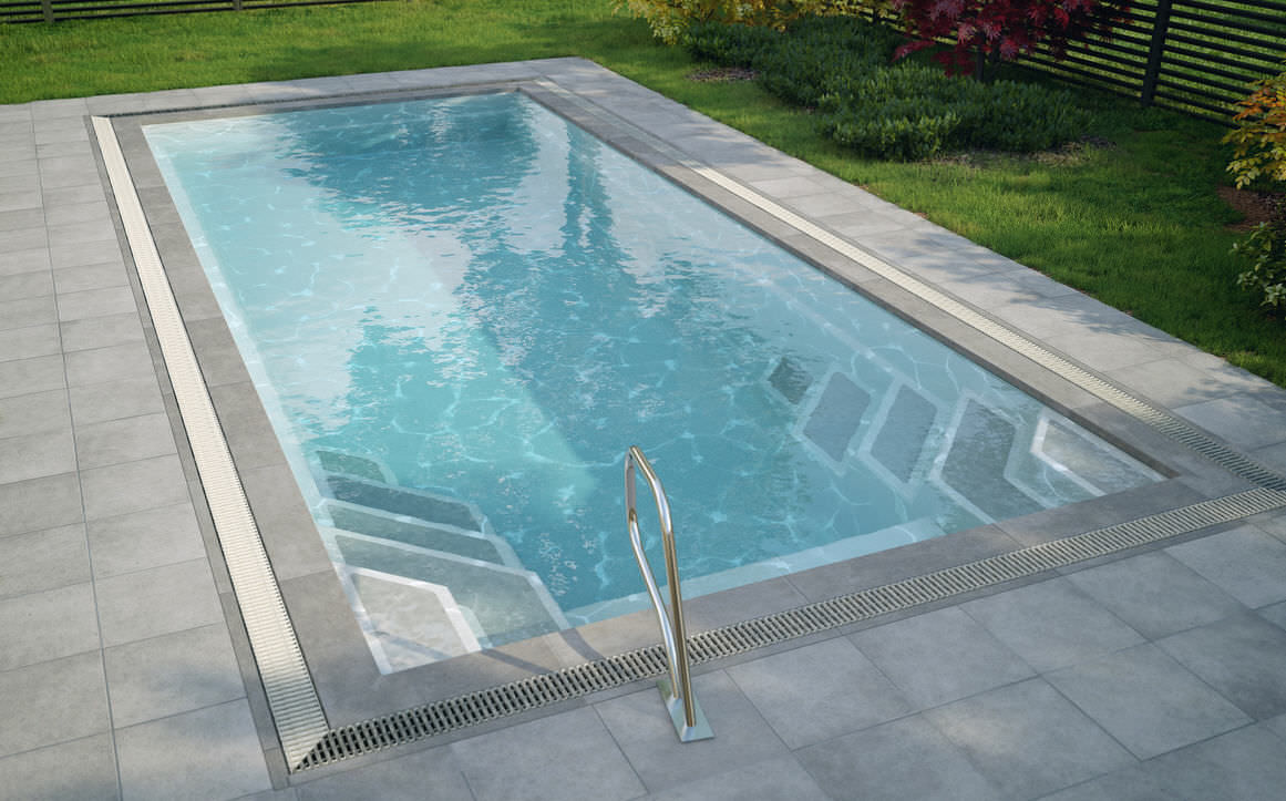 in ground swimming pool polyester pu composite wanaka luxe pools