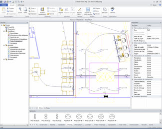 CAD Software Design For Electrical Installations 3D