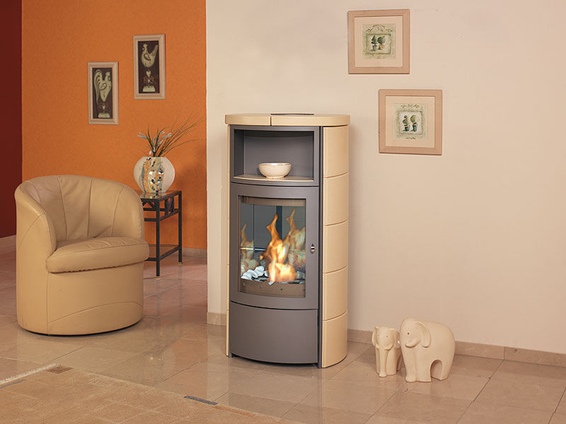 Superior Bioethanol Heating Stove / Contemporary / Metal   ASCO 5 BK