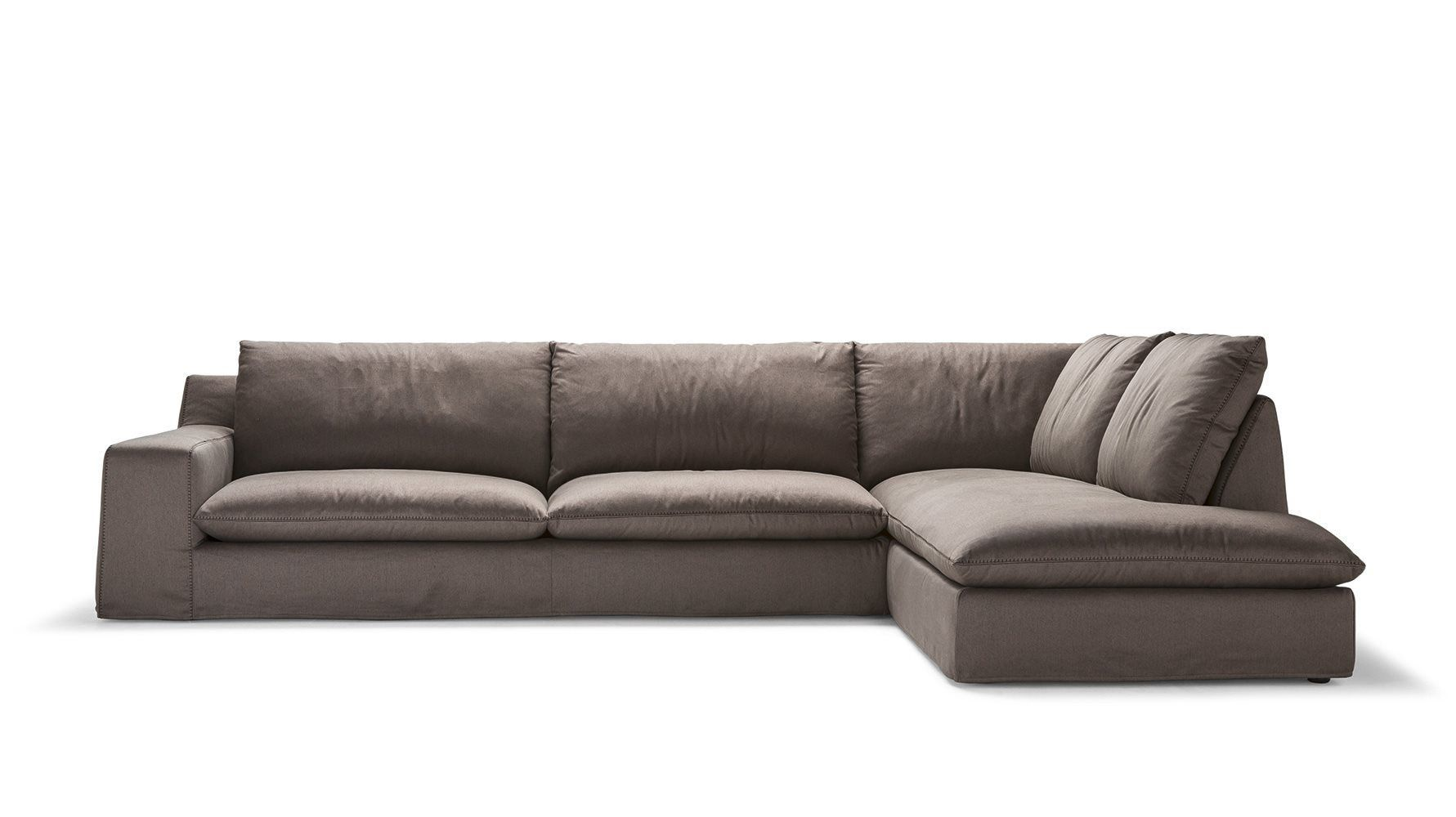 ... Modular Sofa / Contemporary / Leather / Fabric