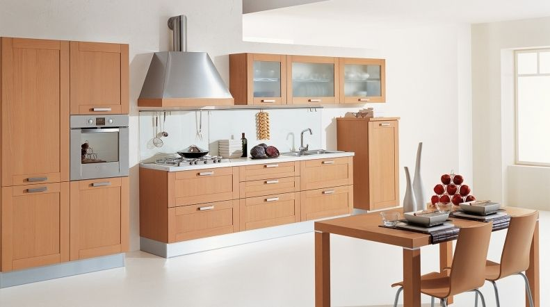 Traditional kitchen / solid wood / wooden - CALIFORNIA VARIANTE 5 ...