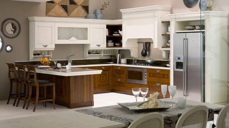 Traditional kitchen / laminate / solid wood - CA\' VENETA VARIANTE ...