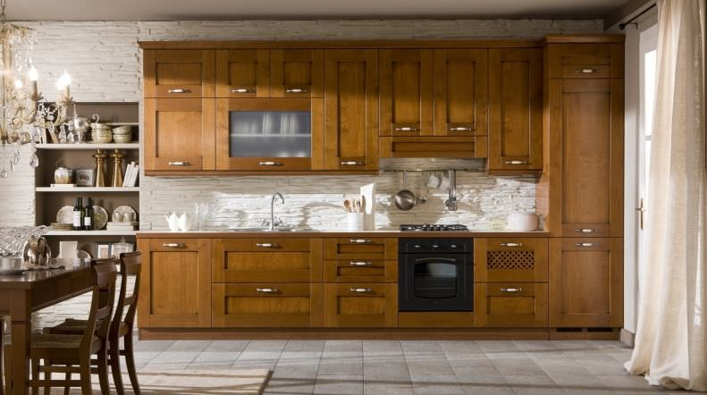 Traditional kitchen / solid wood / wooden - ca\' doro variante 1 ...