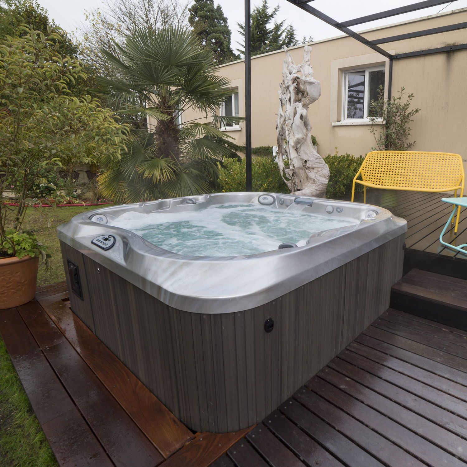 square above ground pool. Above-ground Hot Tub / Square 5-person 4-seater - J-335™ Above Ground Pool S