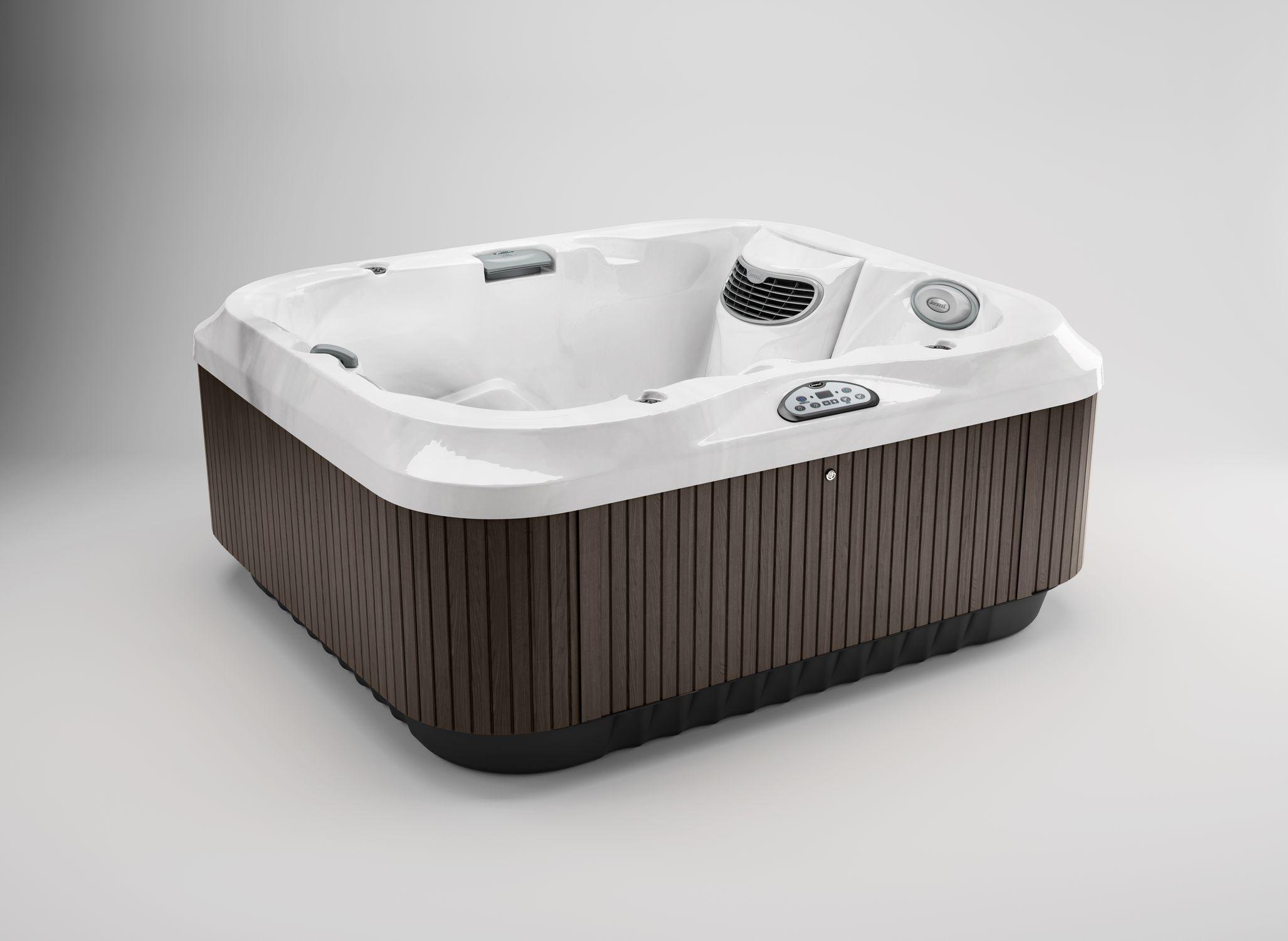 Above-ground hot tub / rectangular / 3-seater / indoor - J-315 ...