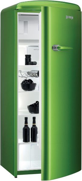 Upright refrigerator - RETRO : RB60299OGR - GORENJE - Videos | {Kühlschrank retro gorenje 89}