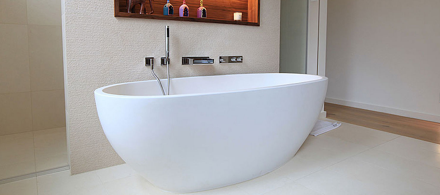 Freestanding bathtub / oval / stone - ECO - Castello Luxury Baths