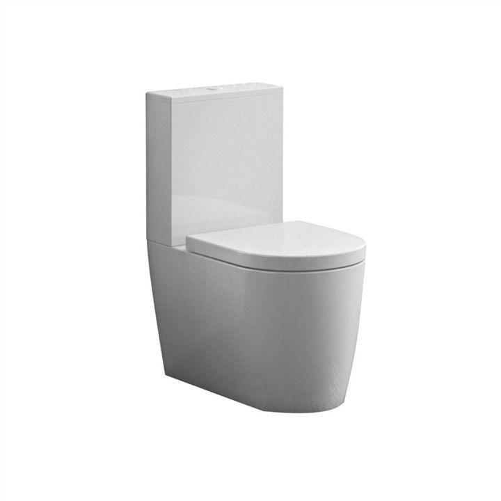 Monobloc toilet / ceramic - SK00300001/SK00400001 - Disegno Ceramica