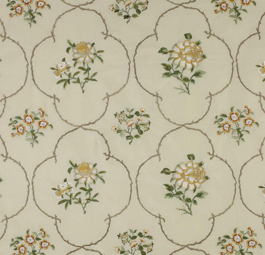 Upholstery Fabric Floral Pattern Viscose Summer Palace China