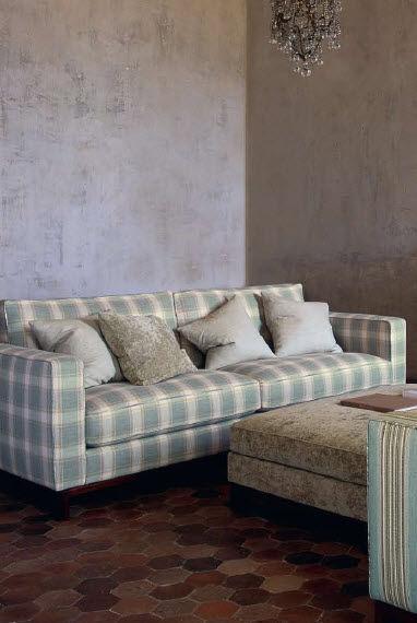 Upholstery Fabric Plaid Viscose Veryan Kerris Check