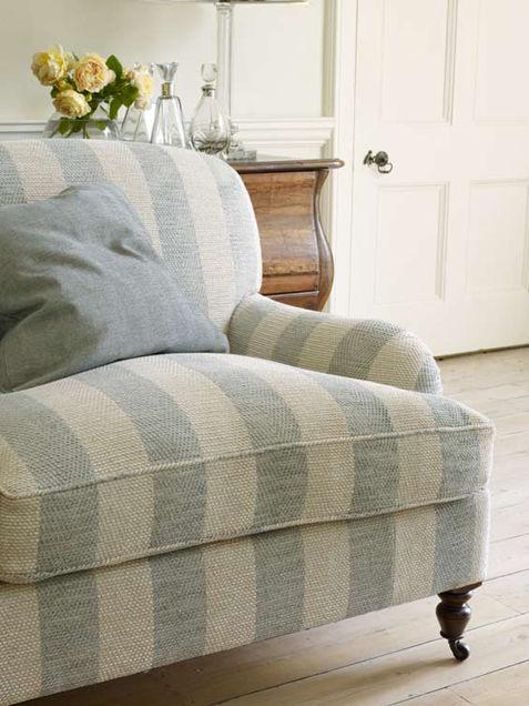 Upholstery Fabric Striped Viscose Chenille Branton Stripe