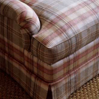Upholstery Fabric Plaid Wool Summer Palace Lewis Plaid