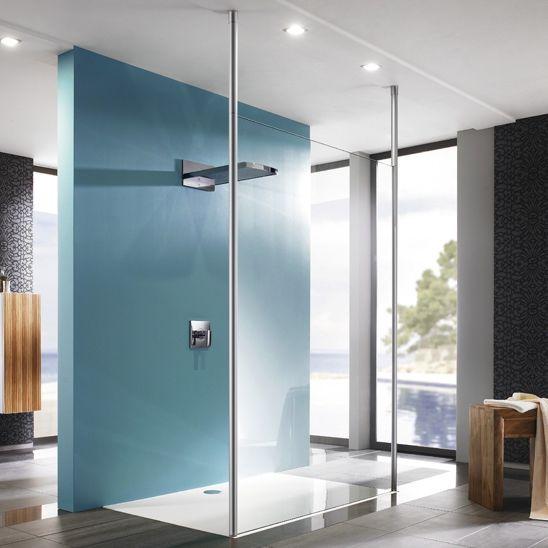 Rectangular Shower Base / Stone / Flush   EASYSTEP