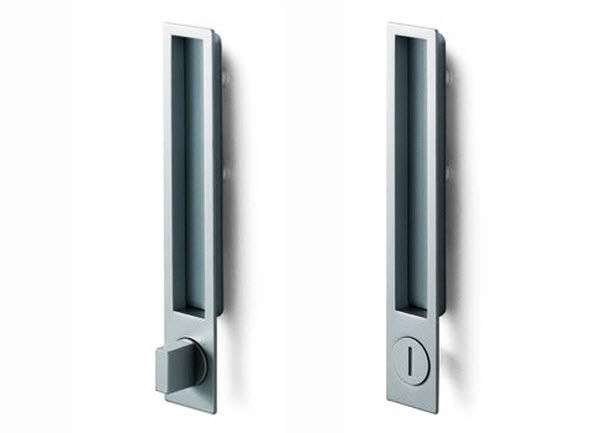 Bon Sliding Door Handle / Aluminum / Contemporary / Built In   MN1096Z By  Pinoccio Borgonovo