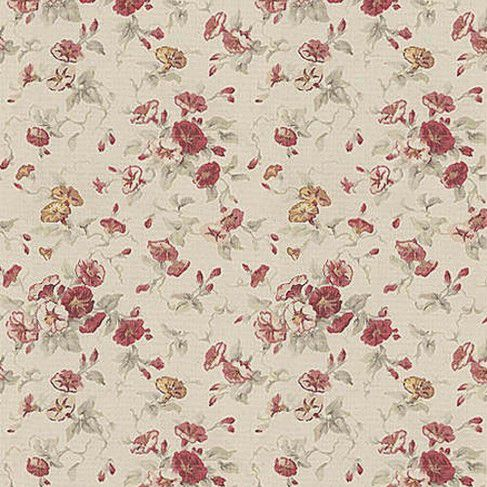 Upholstery Fabric Fl Pattern Cotton Fairhaven Rose