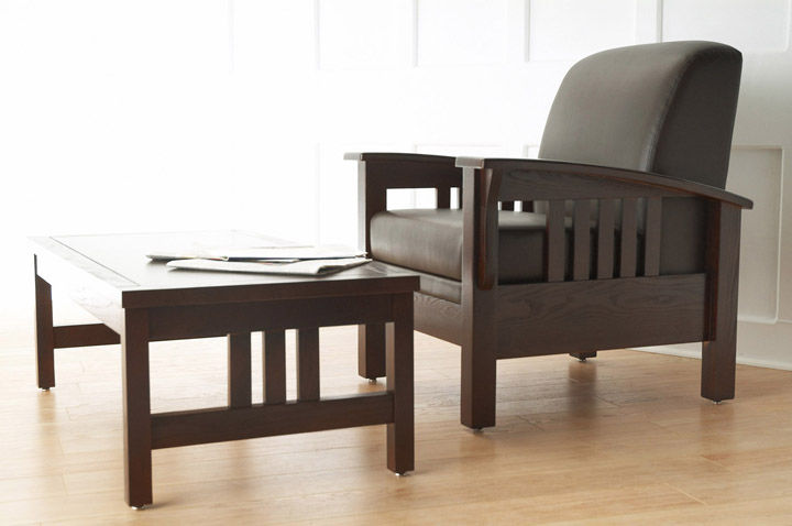 Contemporary Armchair / Wooden / Fabric / With Removable Cushion SONORA  Carolina Business Furniture ...