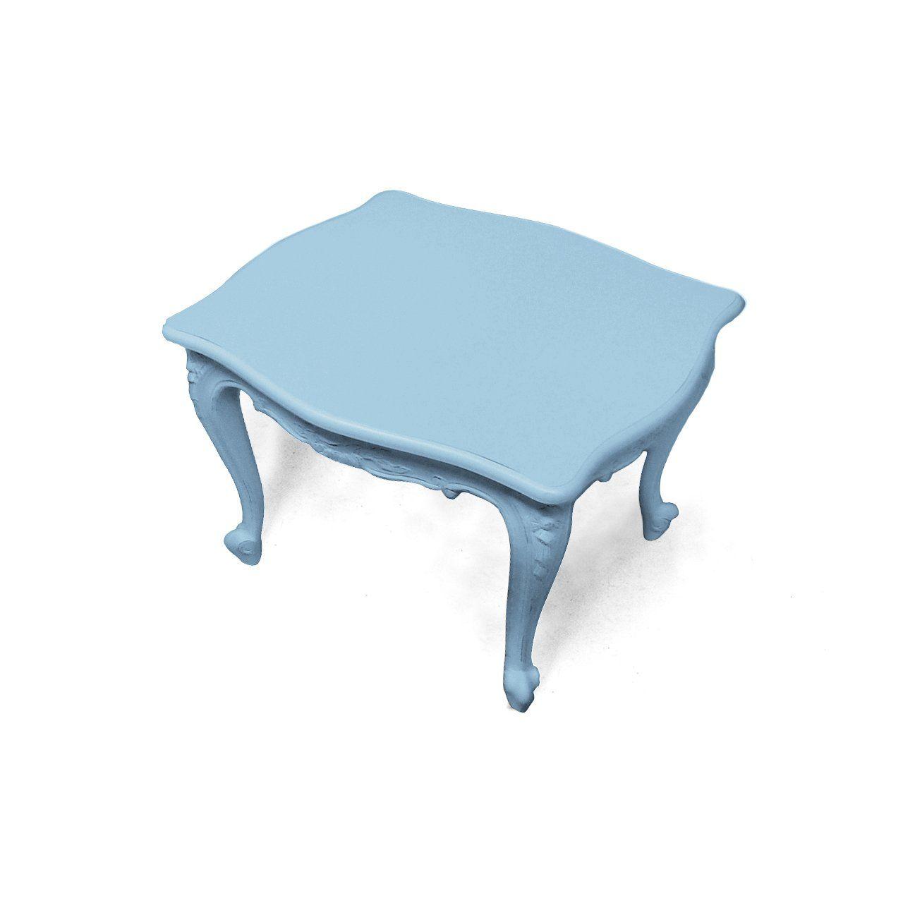 New Baroque Design Side Table Elastomer Rectangular Commercial Plastic Fantastic By Jasper Van Grootel
