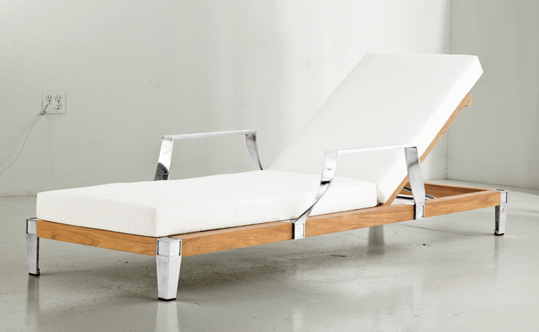 traditional chaise longue / wooden / indoor / garden - robinwood ... - Chaise Longue Philippe Starck