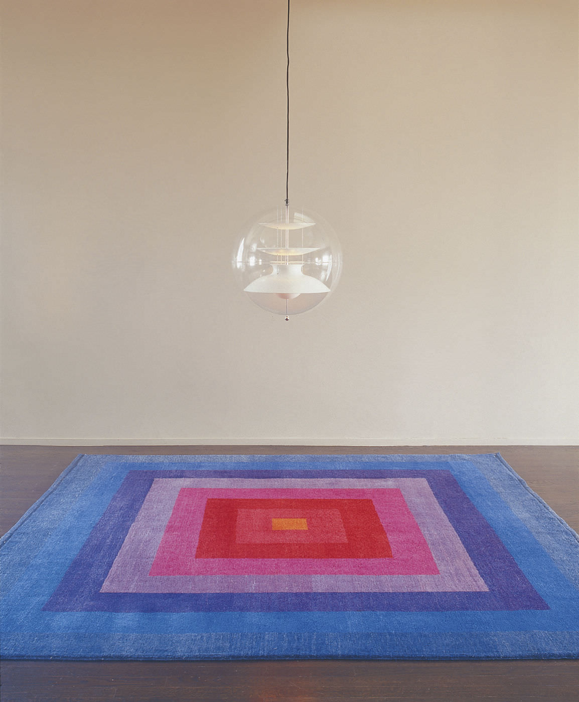 verner panton rug rare verner panton mira romantica large scale  - contemporary rug patterned wool rectangular square rug by
