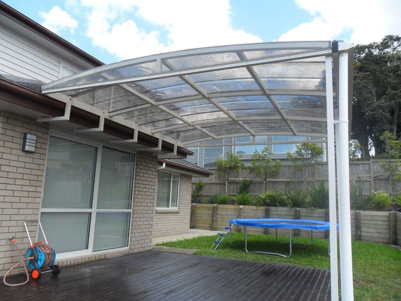 ... Patio canopy / polycarbonate / methacrylate / metal Polimer Tecnic ... & Patio canopy / polycarbonate / methacrylate / metal - Polimer Tecnic