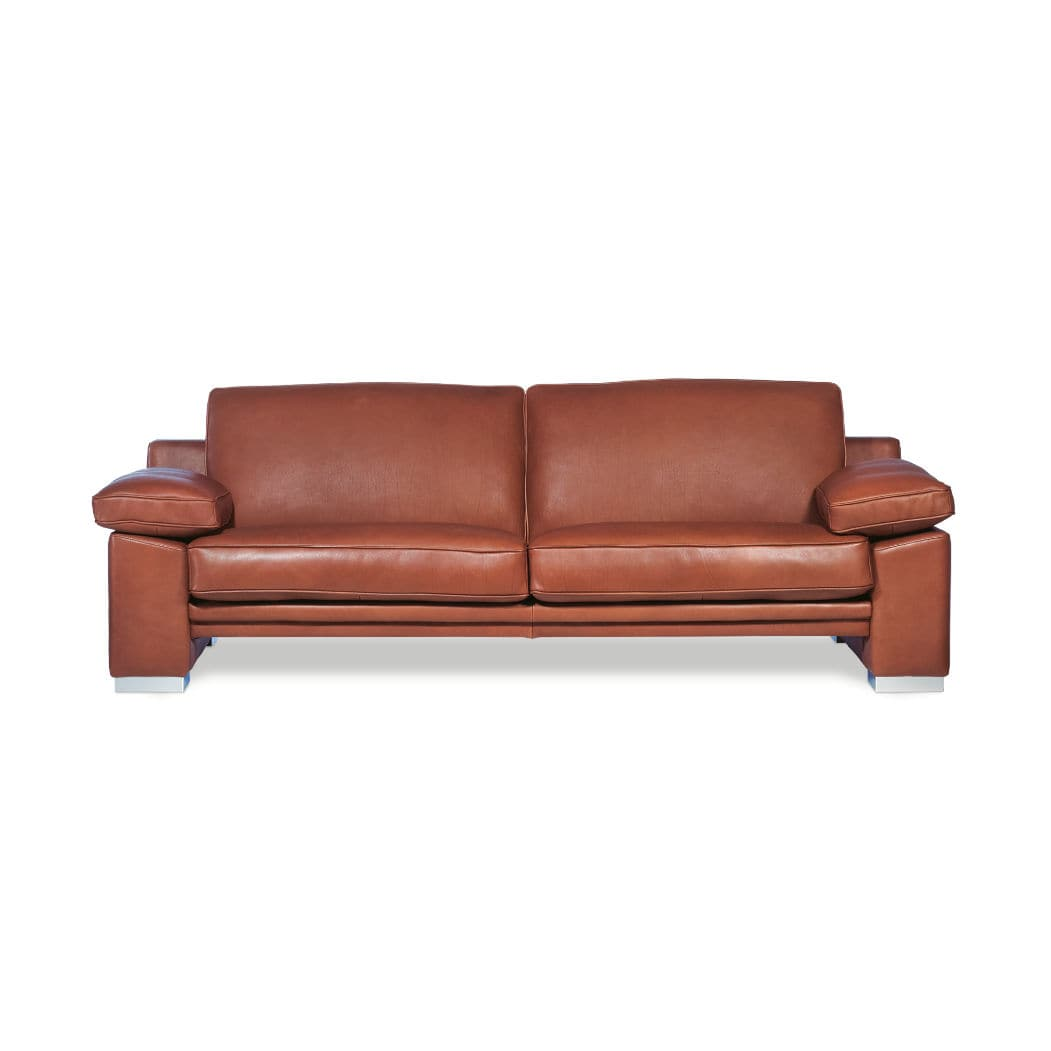Contemporary Sofa / Leather / For Hotels / 2 Person   MANHATTAN By Bernard  Massot