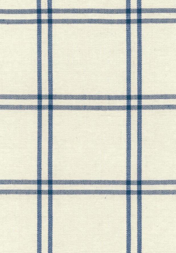 Upholstery Fabric Plaid Cotton Wool Luberon Plaid F
