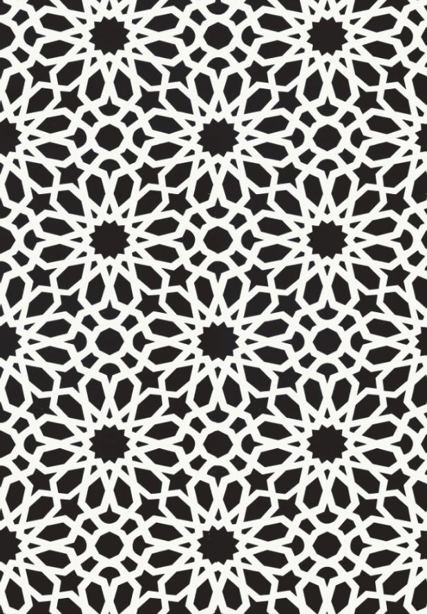 Traditional wallpaper / fabric / patterned - AGADIR SCREEN by M.L. ...