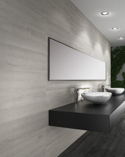 Bathroom tile wall porcelain stoneware polished ETERNAL – White Porcelain Tile Bathroom