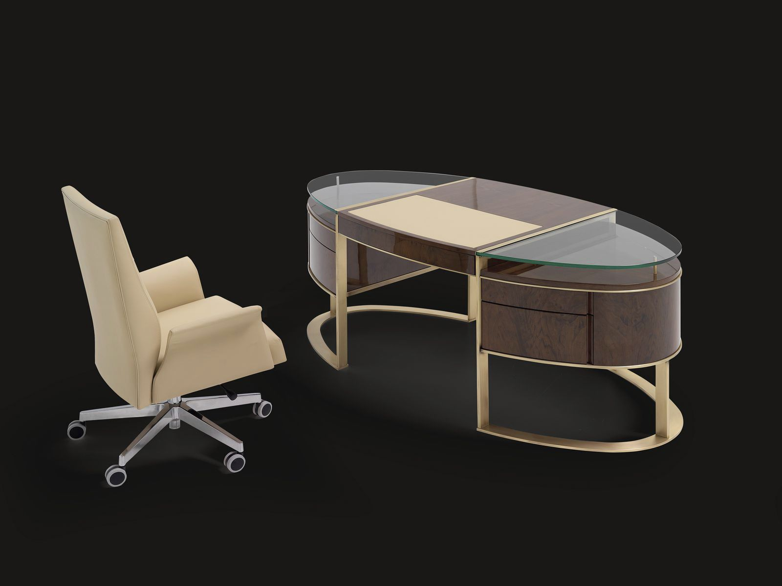 glass desk contemporary artisan by planum furniture mobil fresno: dining room chairs mobil fresno