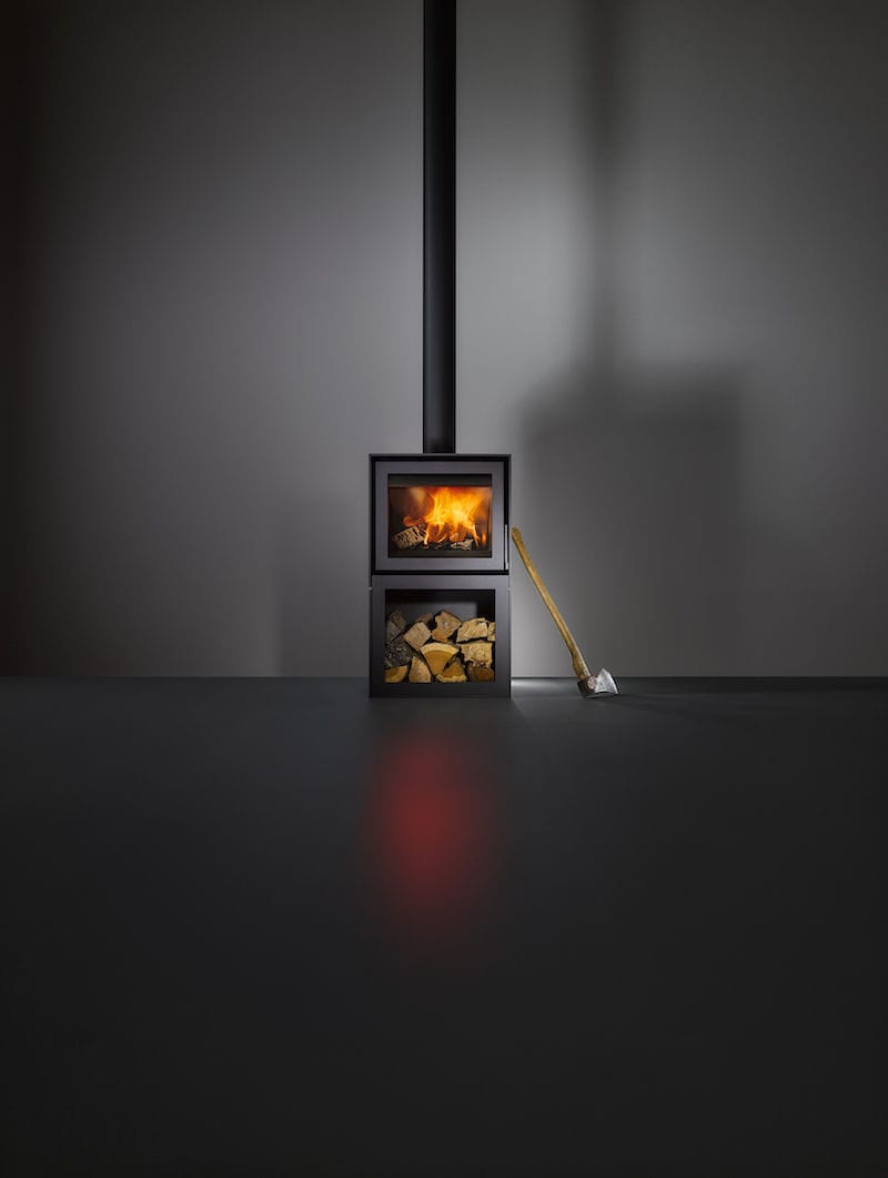 wood heating stove contemporary steel box bellfires